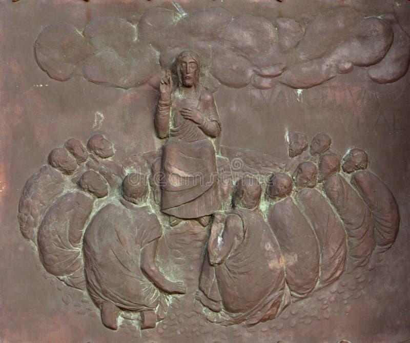 门徒耶稣 免版税库存照片