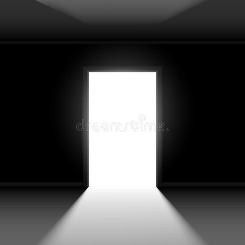 门户开放主义 库存例证