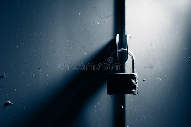 门挂锁 库存图片