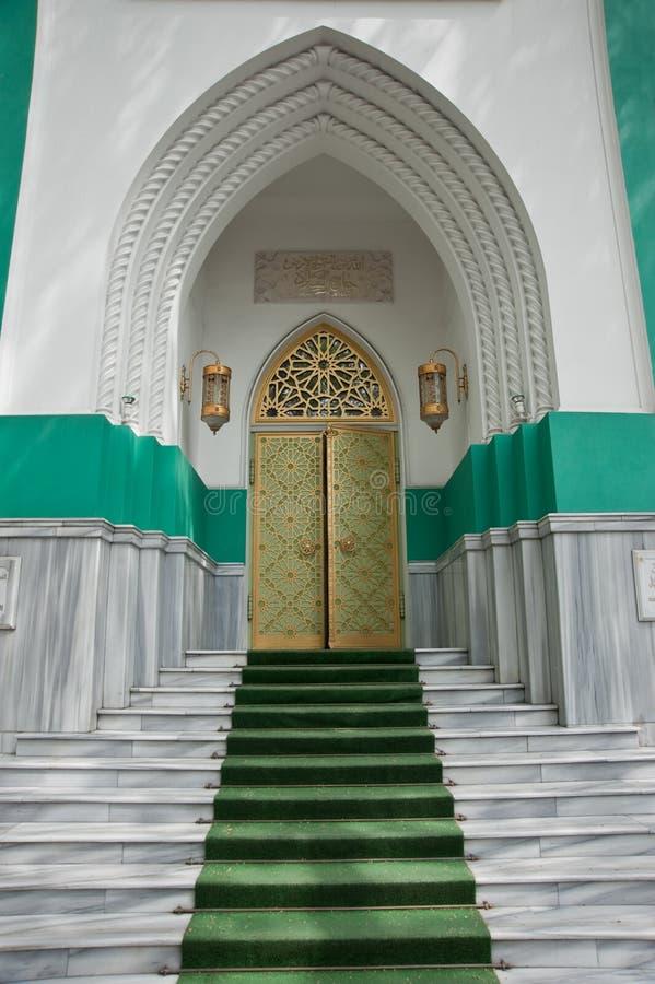 门犹太教堂 库存照片