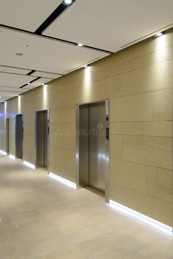 门电梯三 库存图片