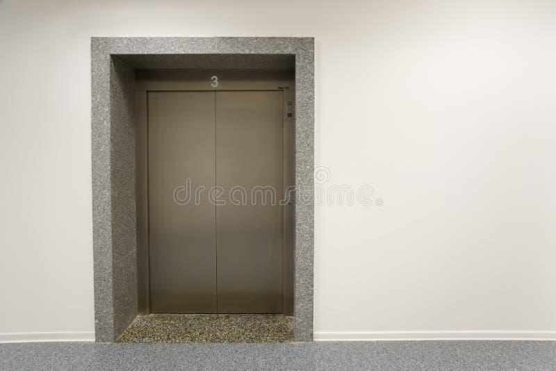 门电梯金属 免版税库存照片