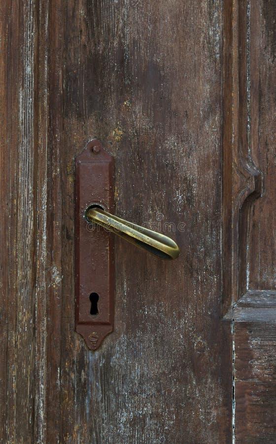 门的细节 免版税库存图片
