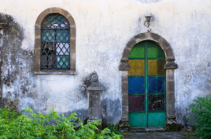 门老视窗 库存照片