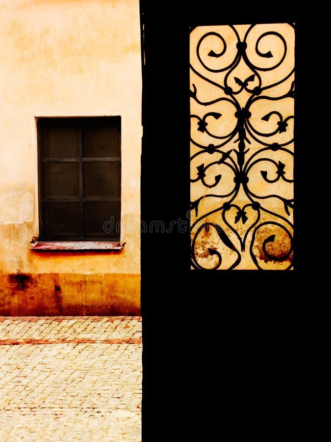门视窗世界你的 库存图片