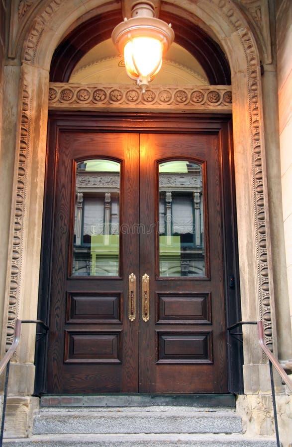 门道入口入口花梢 免版税库存图片