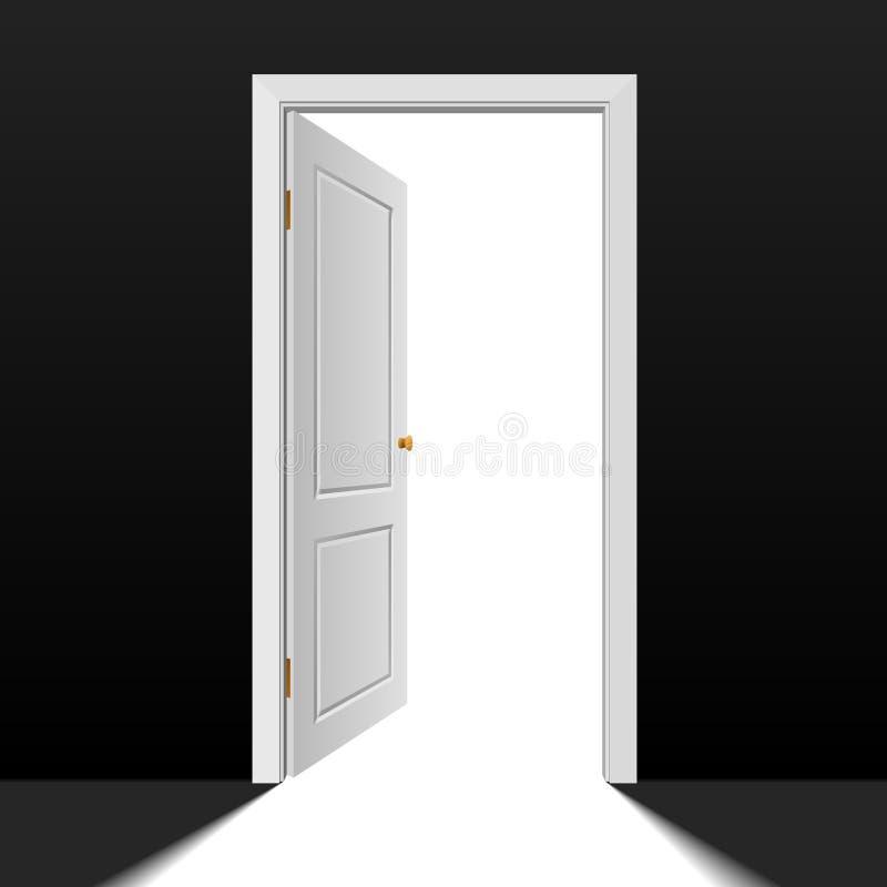 门道入口 库存例证