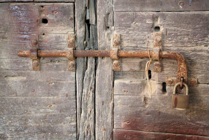 门锁 库存照片