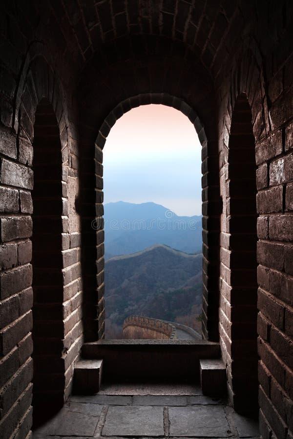 门长城 图库摄影