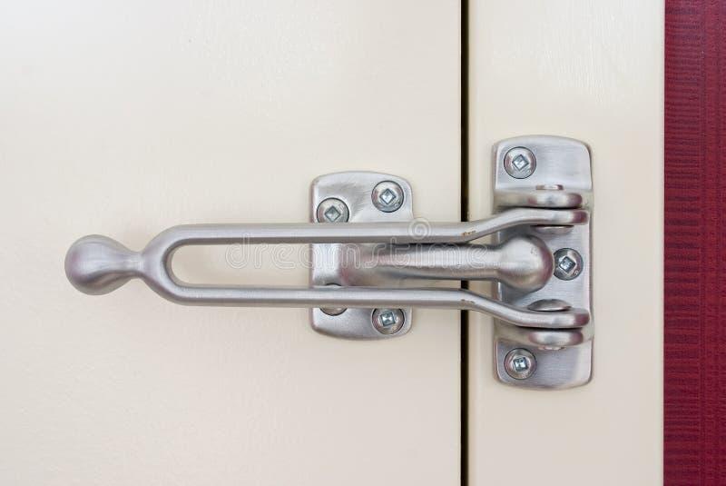 门闩安全性 免版税库存图片