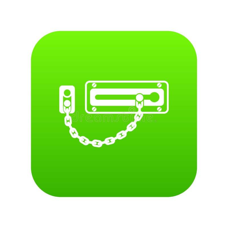 门闩象绿色传染媒介 库存例证
