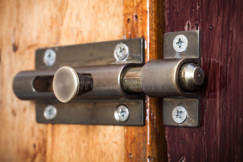 门闩 库存照片