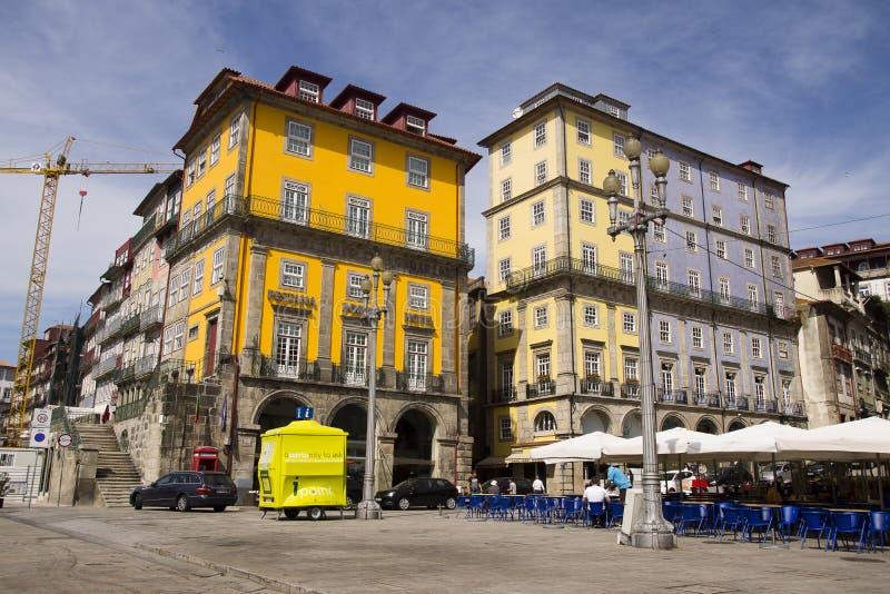 门面波尔图葡萄牙 免版税库存照片