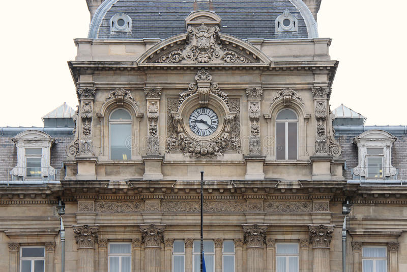 门面-专区-里尔-法国(2) 免版税库存照片