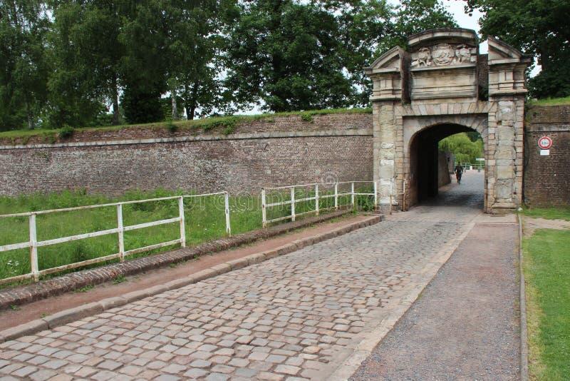 门-城堡-里尔-法国(2) 图库摄影