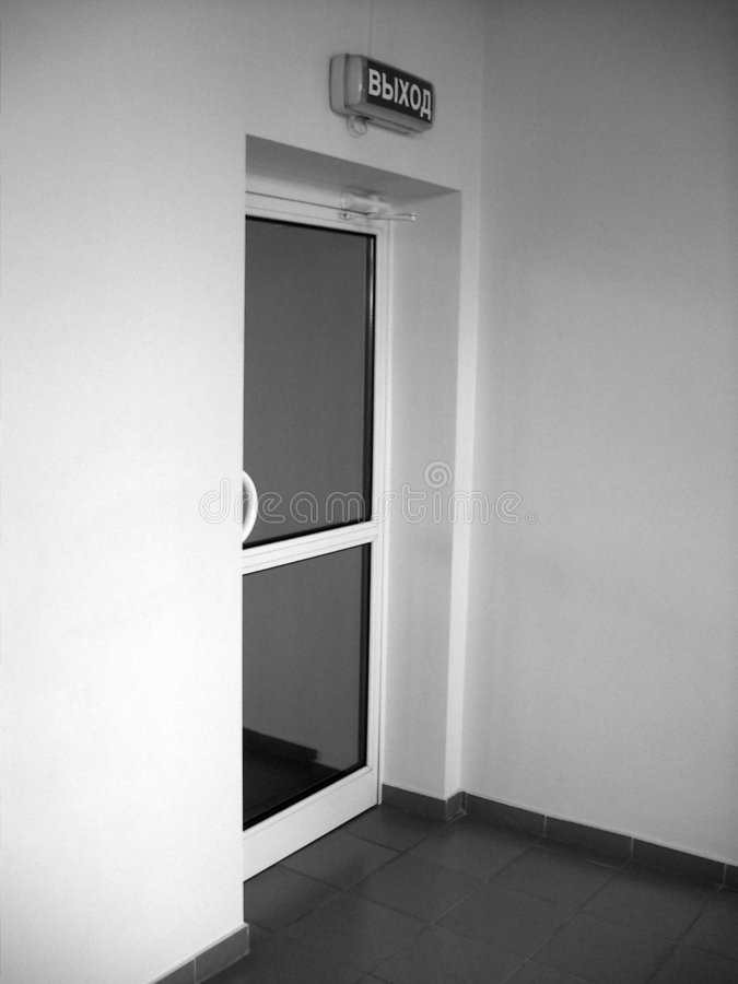 门 免版税库存照片