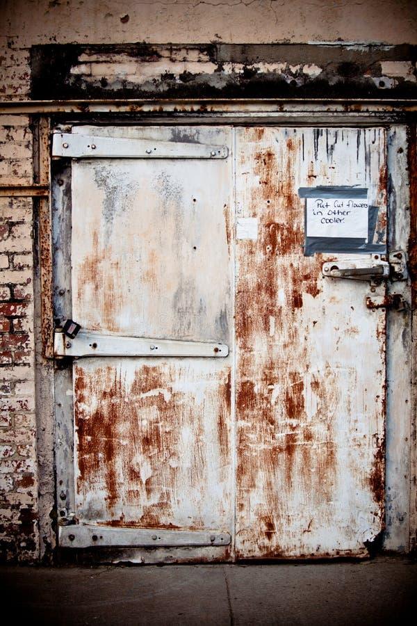 门grunge 免版税库存照片