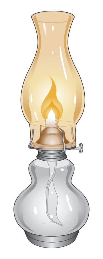 闪亮指示油 向量例证