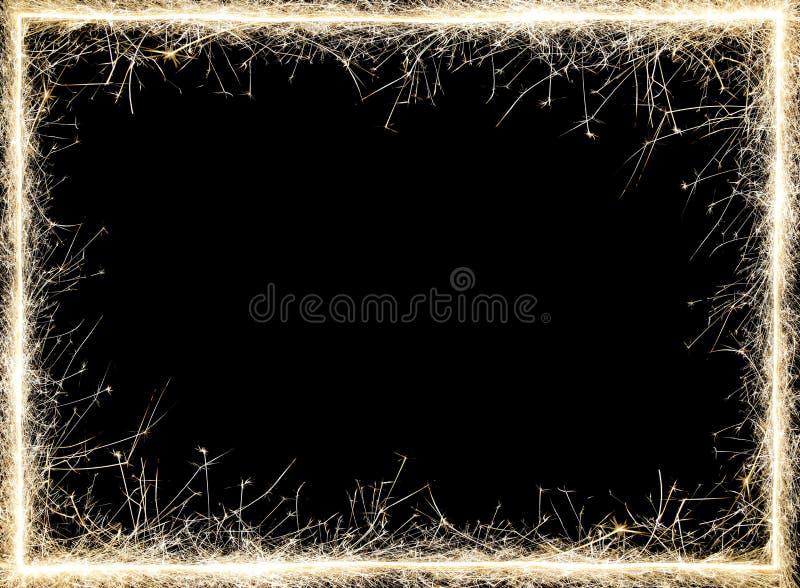 闪烁发光物框架 免版税图库摄影