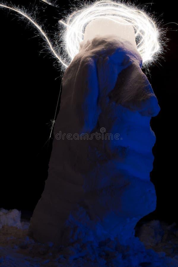 闪烁发光物艺术 免版税库存图片