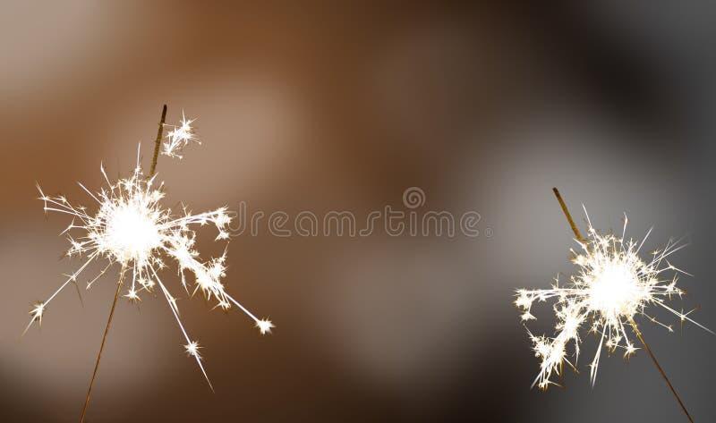 闪烁发光物-新年/新年` s伊芙/庆祝 图库摄影
