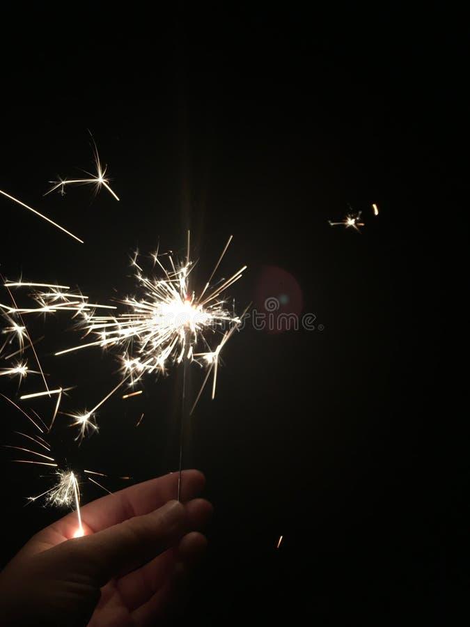 闪烁发光物 免版税库存照片