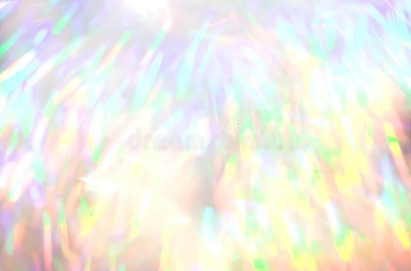 闪烁点燃defocused背景 向量例证