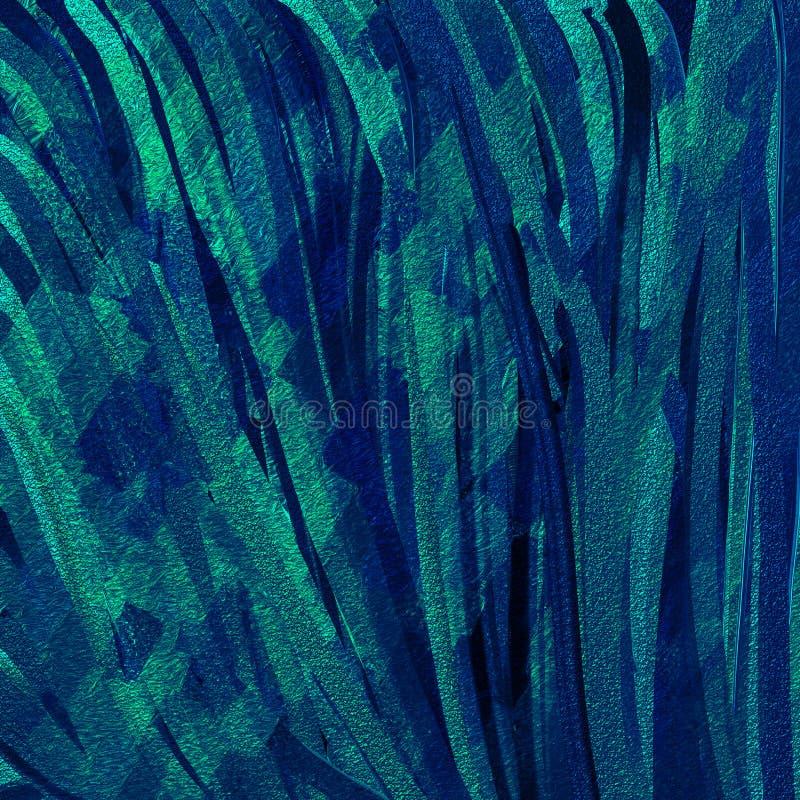 闪烁的冲程艺术 对比被设色的数字纸 两在背景的被定调子的油漆飞溅 皇族释放例证