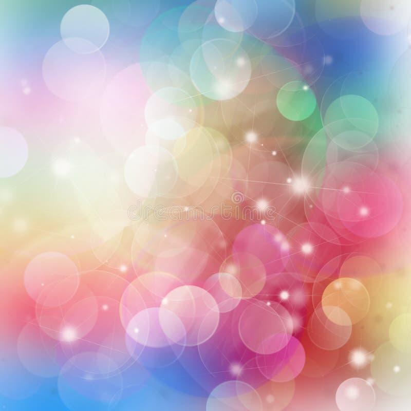 闪烁的欢乐生日背景 库存图片