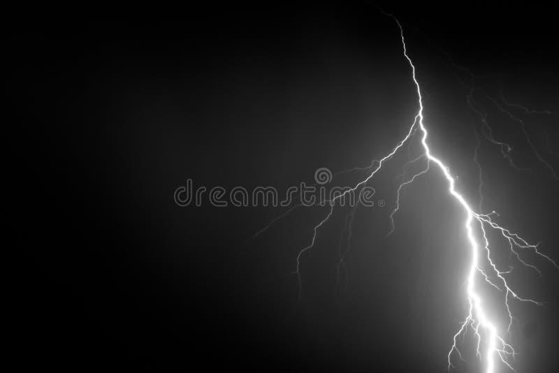 闪电、天气和风暴 库存图片