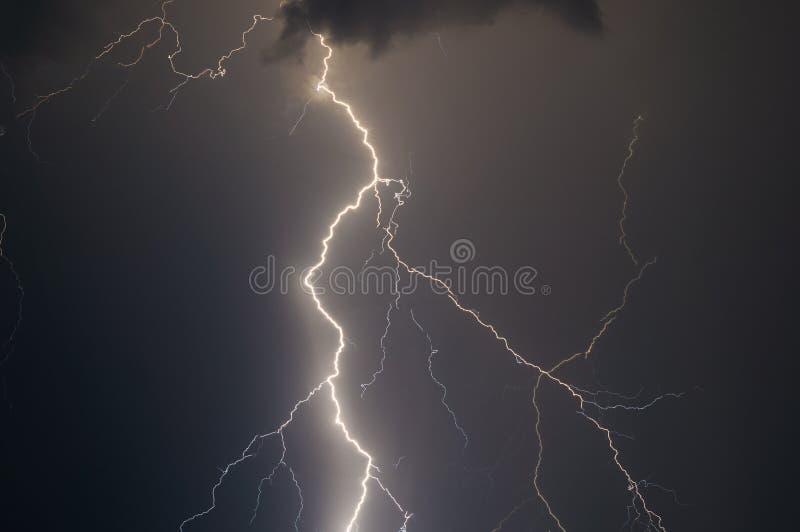 闪电和雷 图库摄影