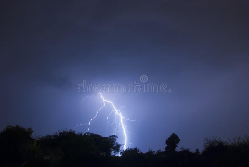 闪电闪光 库存图片