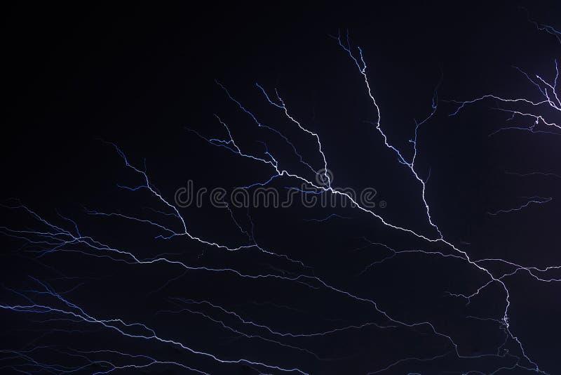闪电闪光 库存照片