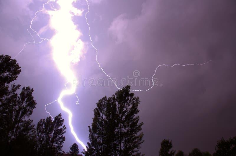 Download 闪电 库存图片. 图片 包括有 天气, 放电, 紫色, 闪电, 摧毁, 天空, 结构树, 拍手, 风暴, 螺栓 - 189457
