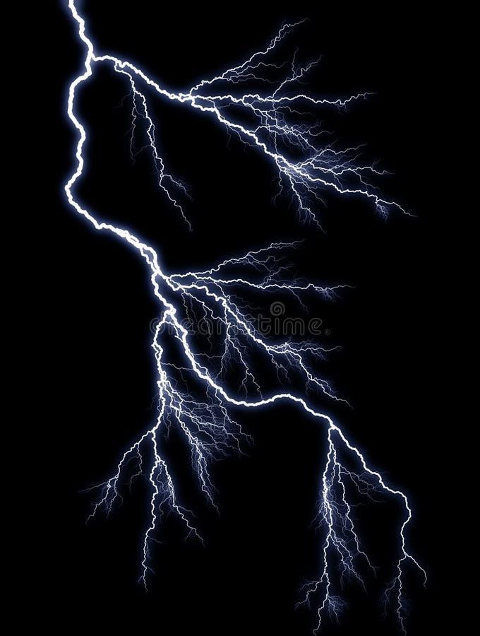 闪电 免版税库存照片