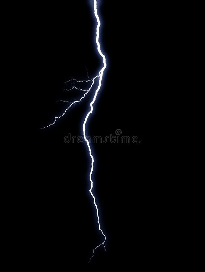 闪电 免版税图库摄影