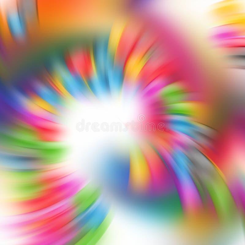 闪耀的桃红色光背景 横幅上色曲线例证滤网没有彩虹向量空白 免版税图库摄影