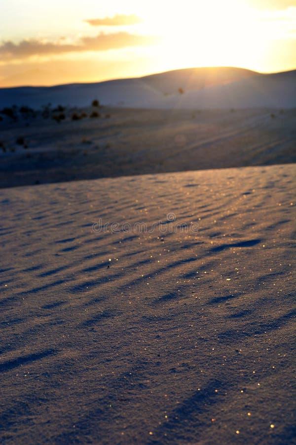 闪耀的沙子 库存照片