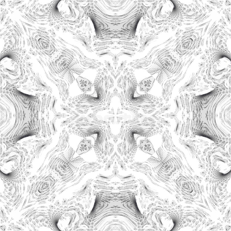 闪耀的豪华几何白色或银色图象 向量例证