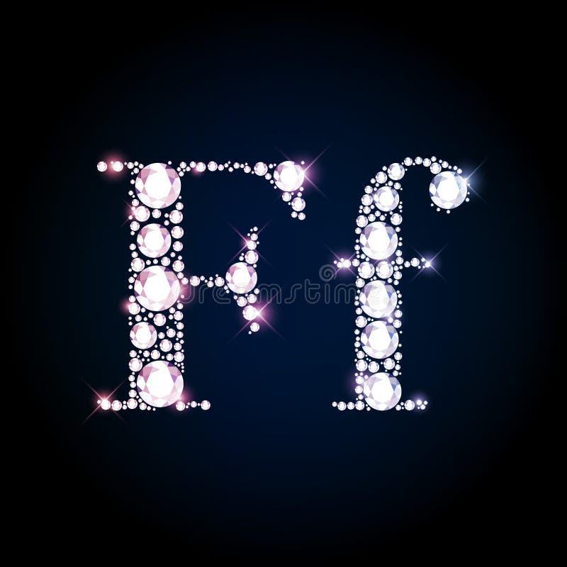 Download 闪耀的金刚石宝石信件F 库存例证. 插画 包括有 字符, 闪烁, 设计, 图象, 独自一个, 耀眼, 欢乐 - 62531185