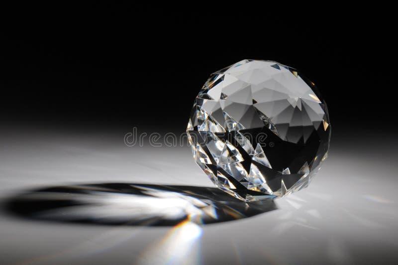 闪耀背景水晶的梯度 库存图片