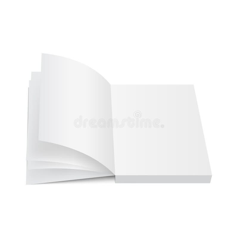 闭合的书籍,盖子 盖子设计的大模型 高细节 背景查出的白色 向量例证