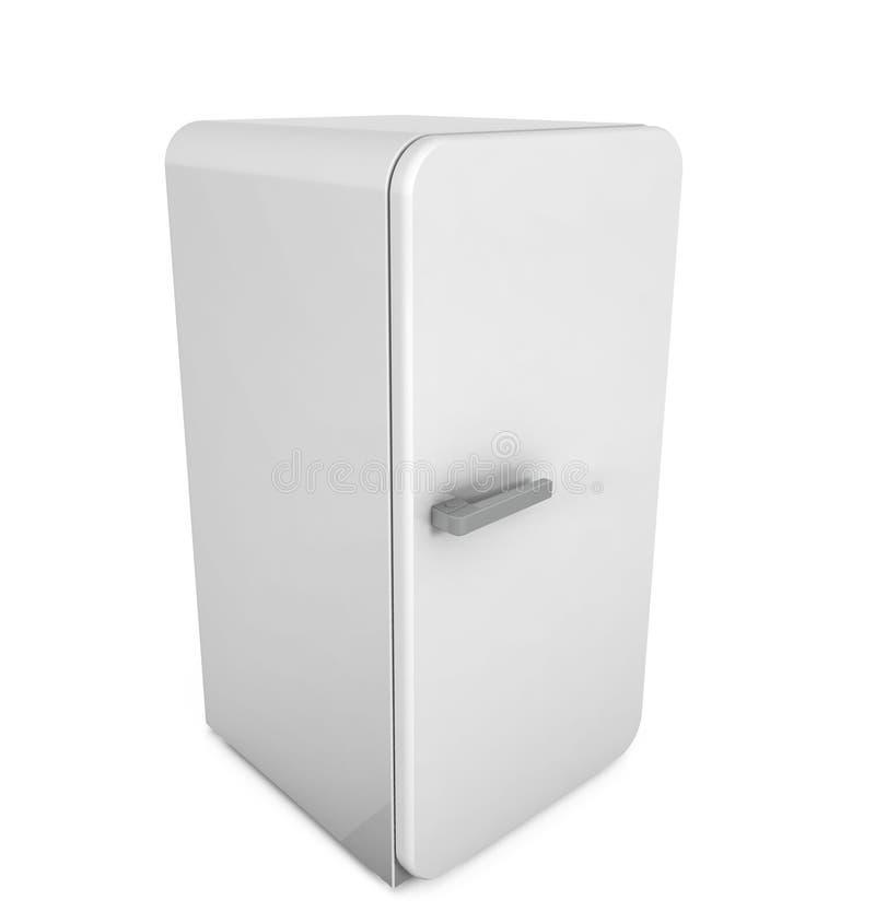 闭合的冰箱 皇族释放例证