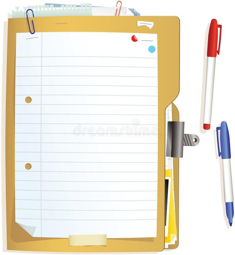 Download 闭合的文件夹和纸 向量例证. 插画 包括有 日志, 核对清单, 文件, 执行, 信息, 服务台, 对应, 首先 - 72357364
