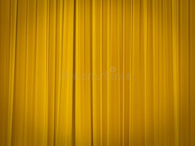 闭合的窗帘演出剧院 库存图片