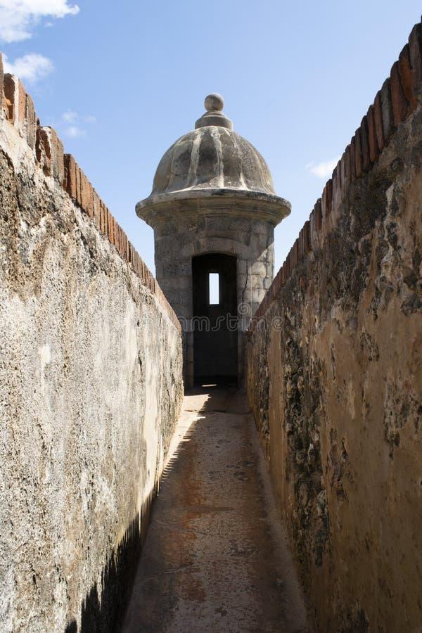 问题的兴趣,波多黎各 免版税图库摄影