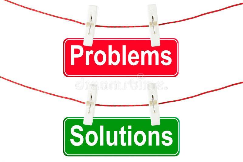 问题符号解决方法 库存照片