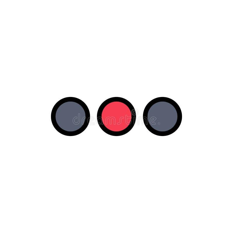 闲谈,聊天,按摩,标志平的颜色象 传染媒介象横幅模板 皇族释放例证