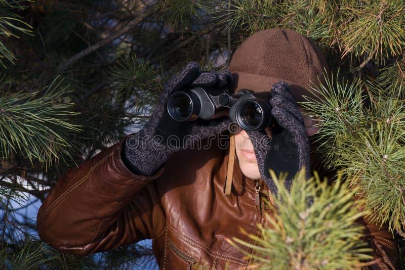 间谍 免版税图库摄影