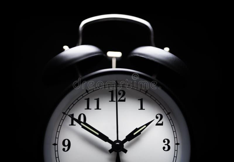 闹钟失眠 免版税库存图片